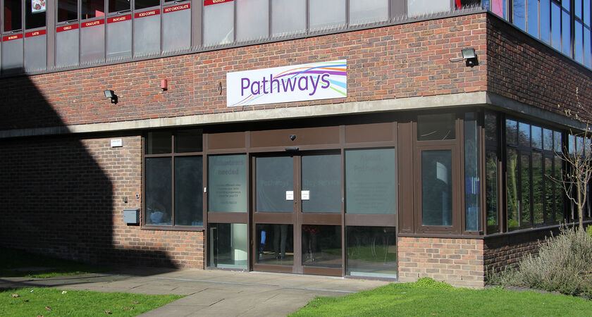 Pathways Front building