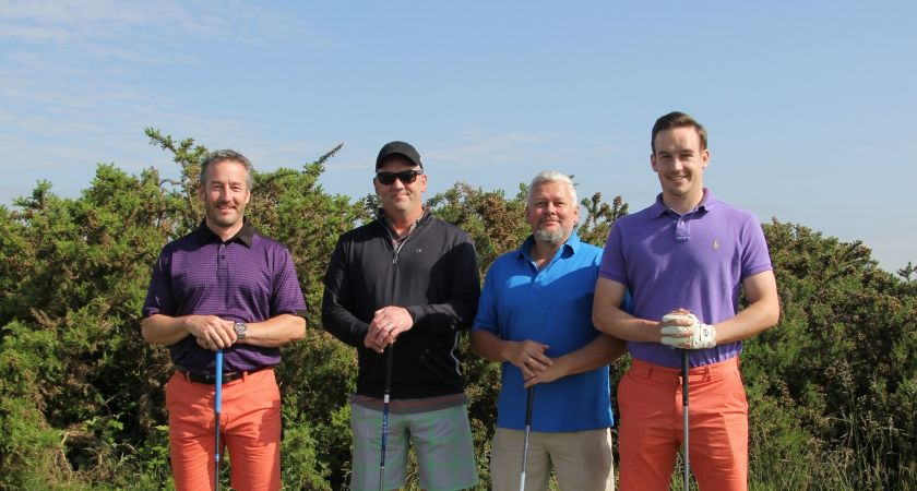 Fundraising golf day