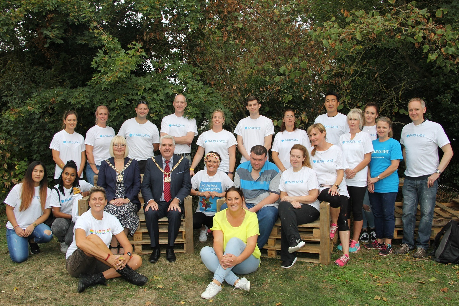 Ken Boyce Centre Barclays volunteering day 2018