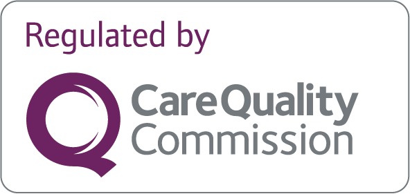 Regulated by Care Quality Commission (CQC)