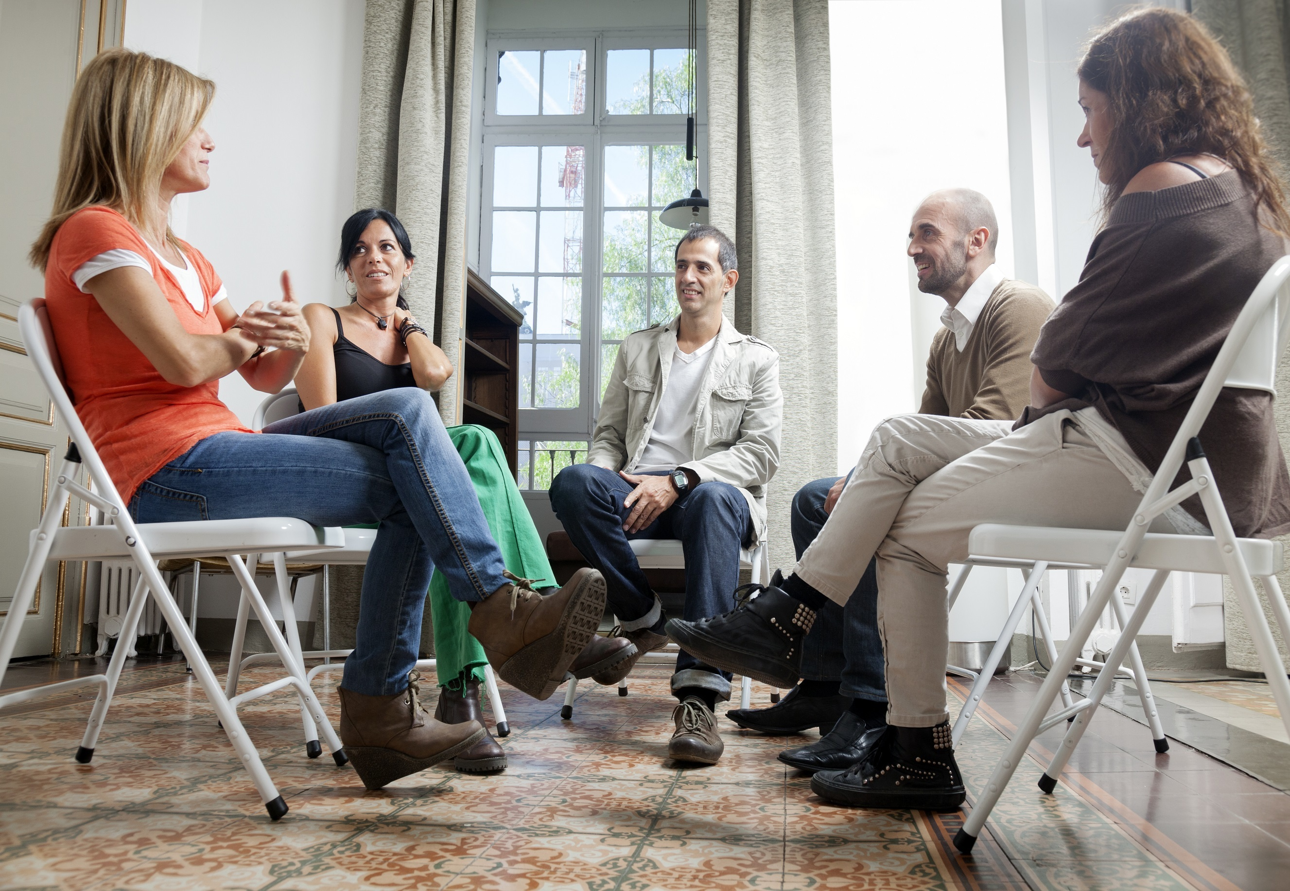 Stock Photo Support Group Mental Health 2