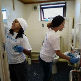 Ken Boyce Centre Barclays volunteering Even More Painting