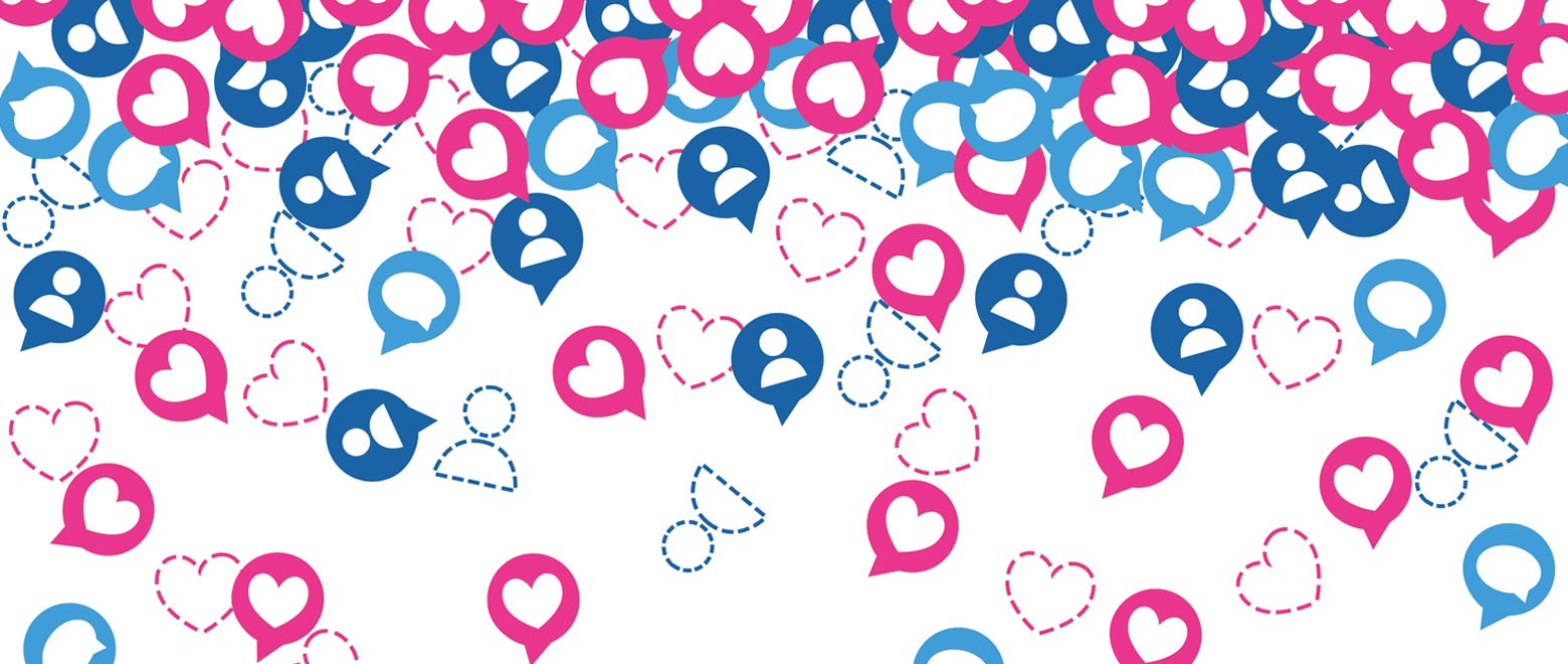 Istock 949436542 Hearts Messages And People Pink